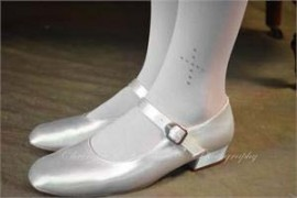 First Communion Tights with Rhinestone Crosses