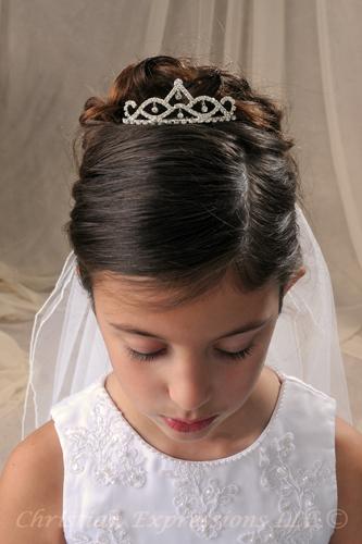 First Communion Tiaras T705 Bridal Wedding Veils First